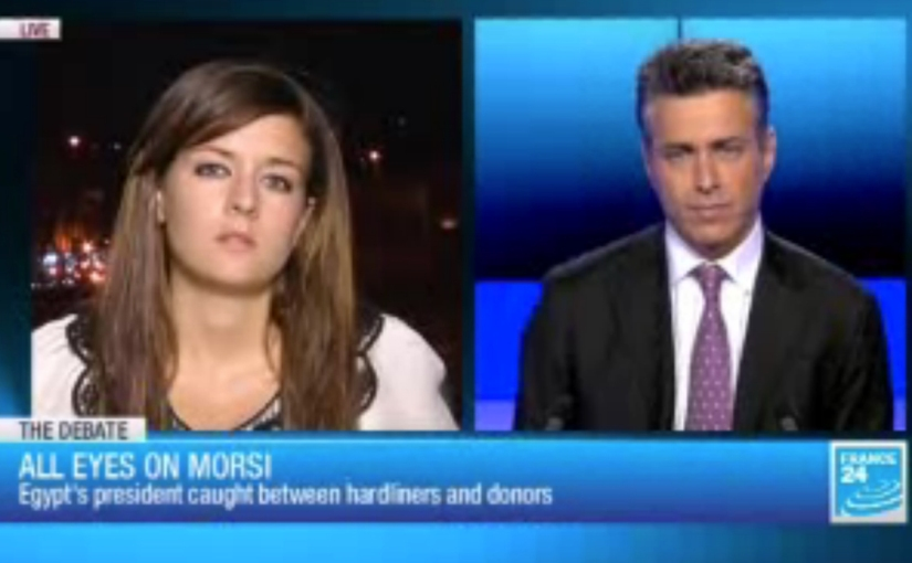 France 24: All eyes on Morsi TV debate