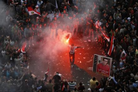 January 25 protests - Egypt Photo Credit: Mohammed Abed, AFP/Getty Images.