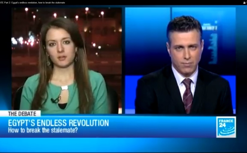 France 24 'The Debate': Egypt's endless revolution, how to break the stalemate Part 1