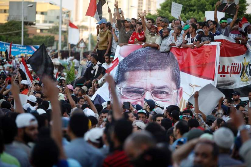 The Times: Our protest will last until death, vow supporters of ousted leader in Egypt