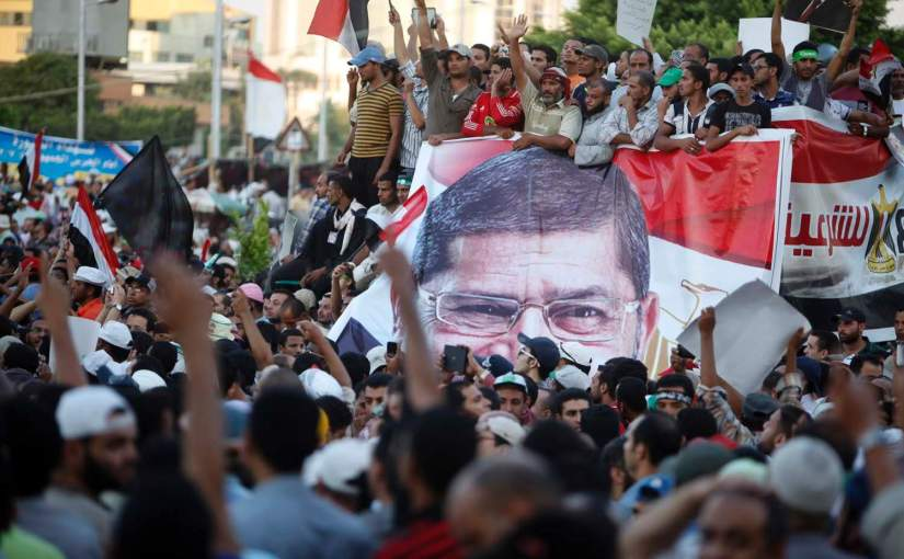 The Times: Our protest will last until death, vow supporters of ousted leader inEgypt