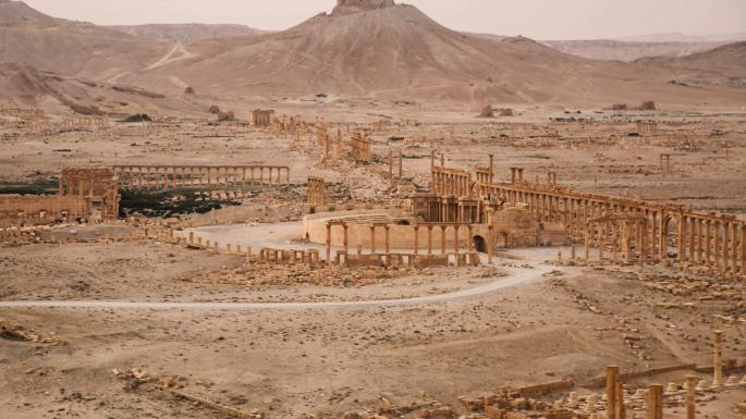 New pictures show the destruction of Palmyra