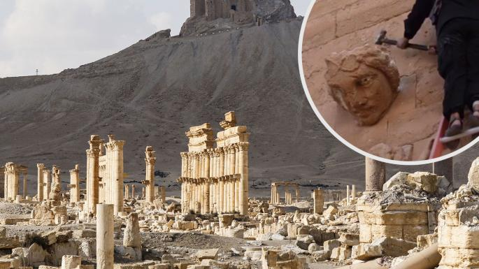 Antiquities experts call for war on Isis looting in Syria andIraq