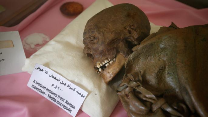 Pagan mummies are latest casualties of Yemen's fighting