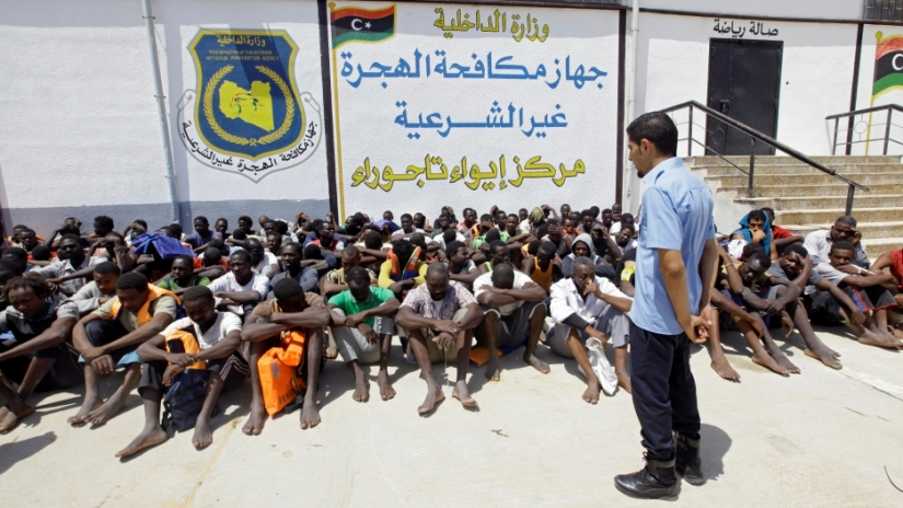Libya, Migrant detention centres, Bel Trew