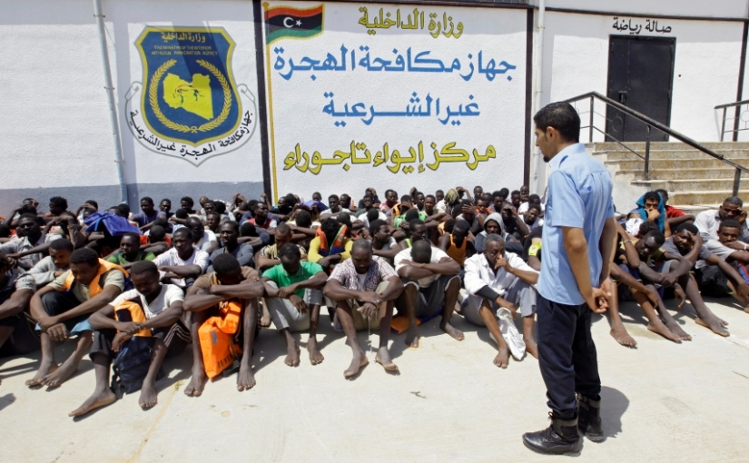 PRI Radio: A growing number of migrants are detained in Libya, enduring dismal conditions