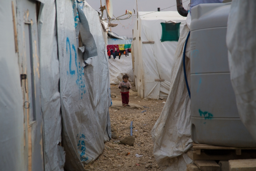 Refugees face death camped out in bitter Lebanon winter