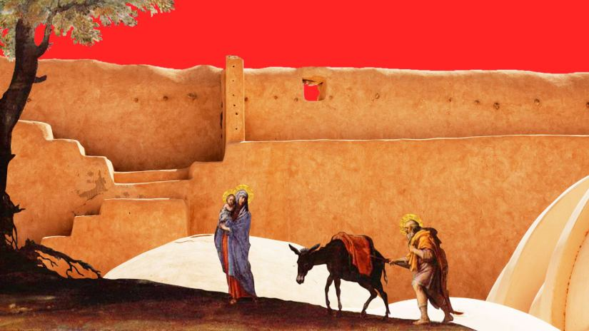The Flight Into Egypt: Jesus, Mary, Joseph—and ISIS