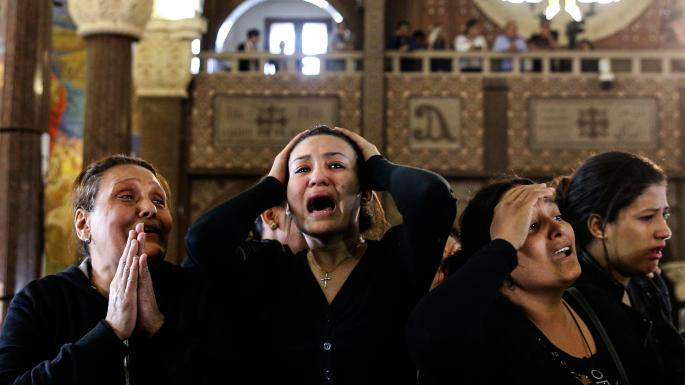 Coptic Christians forced to flee from Isis' river of blood