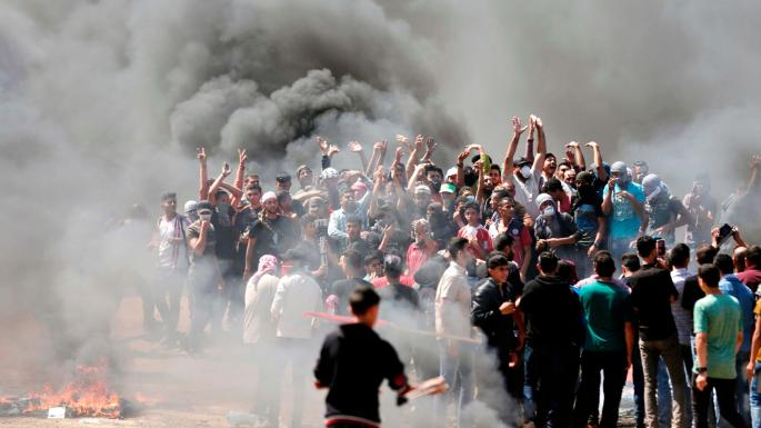 Dozens killed by Israeli forces in Gaza as US opens new Jerusalemembassy